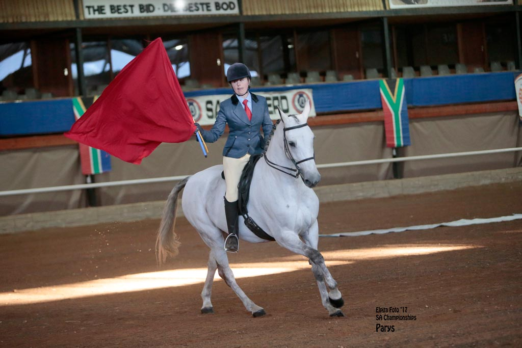 ROOIGRAS GINA  - U- 3-GAITED LADIES RIDING HORSE. OPEN. RIDER 19 YEARS & OLDER<br>